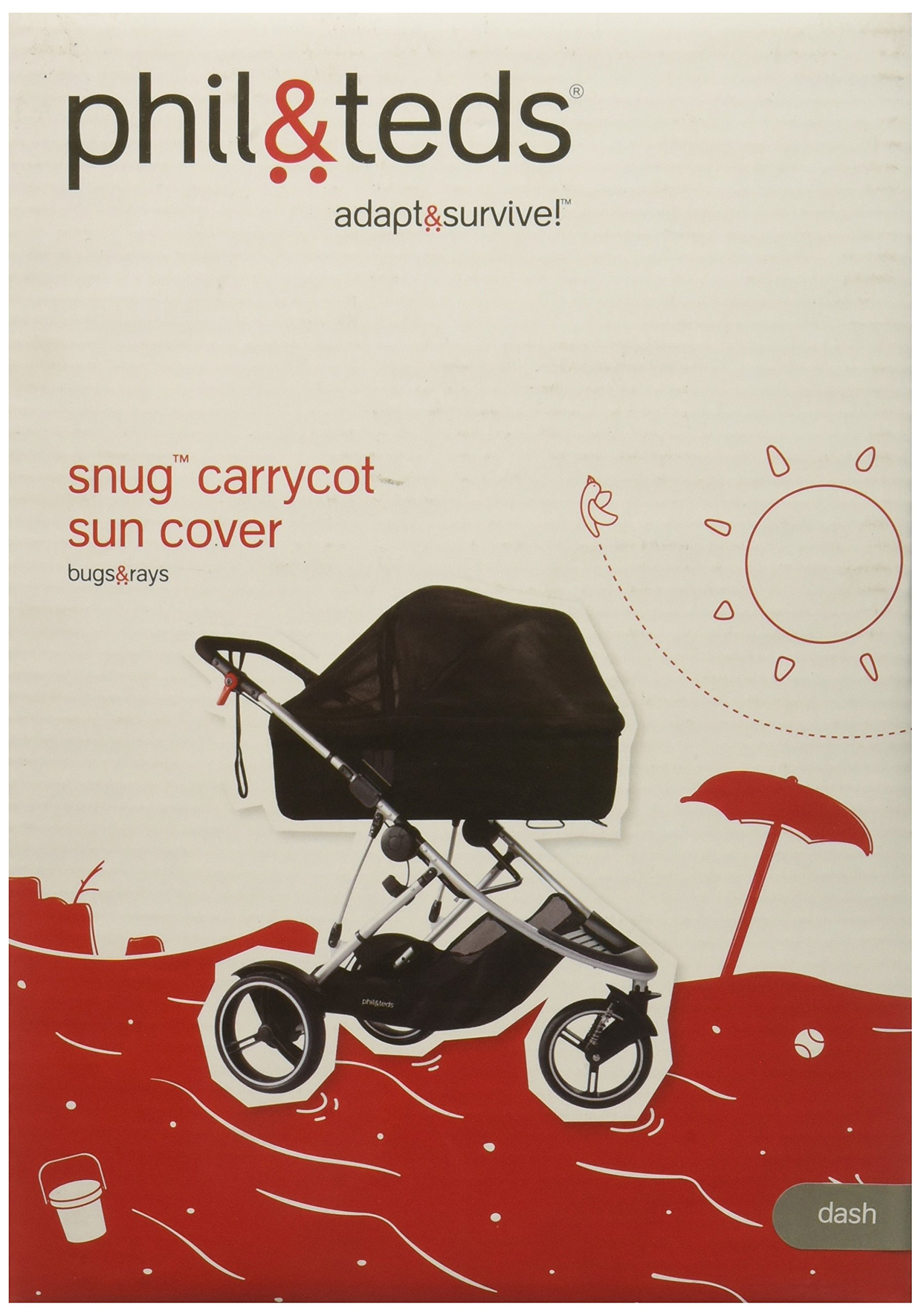 phil&teds Sun Cover for Dash Carrycot