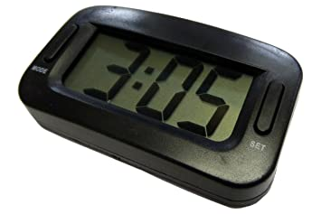 XtremeAuto® Jumbo/grande, reloj digital de repuesto para salpicadero de coche. Fácil de leer, extra grande cara.: Amazon.es: Coche y moto