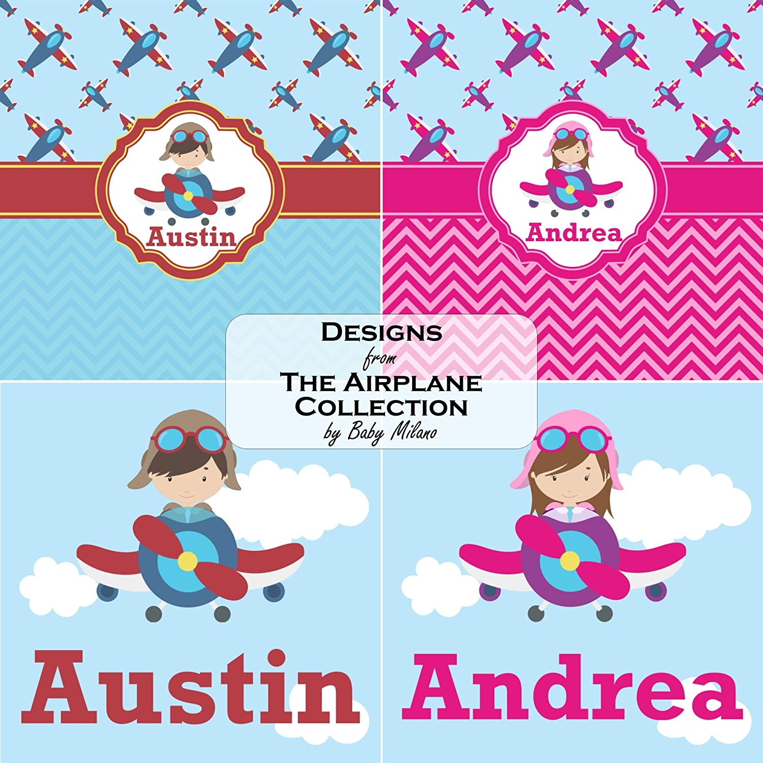 8360624cec02 Amazon.com  Airplane   Pilot Baby Onesie (Personalized)  Clothing