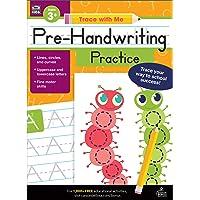 Carson Dellosa | Trace with Me: Pre-Handwriting Activity Book | Preschool–2nd Grade, 128pgs