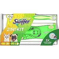 Swiffer 2-in-1 editie, 1 vloerwisser + 8 droge vloerdoeken en 1 stofmagneet + 1 doek, ideaal voor eigenaren van…