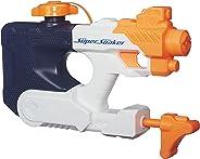 Brinquedo Lança Agua Nerf Super Soaker Squall Surge Hasbro Azul/Laranja/Branco