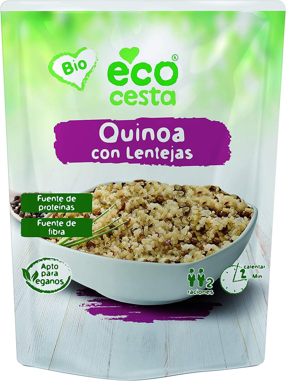 Quinoa con lentejas Bio - 250 gr: Amazon.es: Alimentación y ...