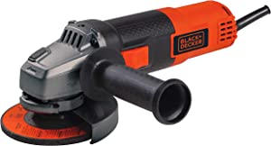BLACK+DECKER BDEG400 6 Amp Angle Grinder, 4-1/2-Inch (Renewed)