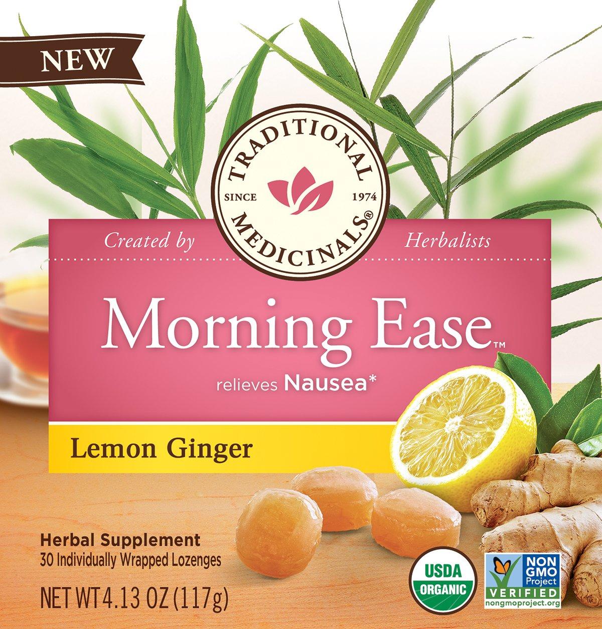 Traditional Medicinals (Lemon Ginger Lozenges, Pack - 2)