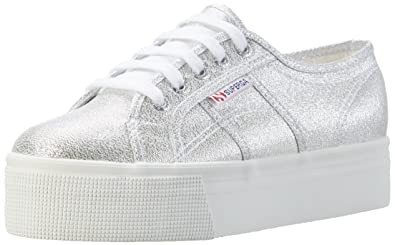 Superga 2790 Lamew, Sneakers Basses Mixte Adulte - Blanc (Blanc), 36 EU