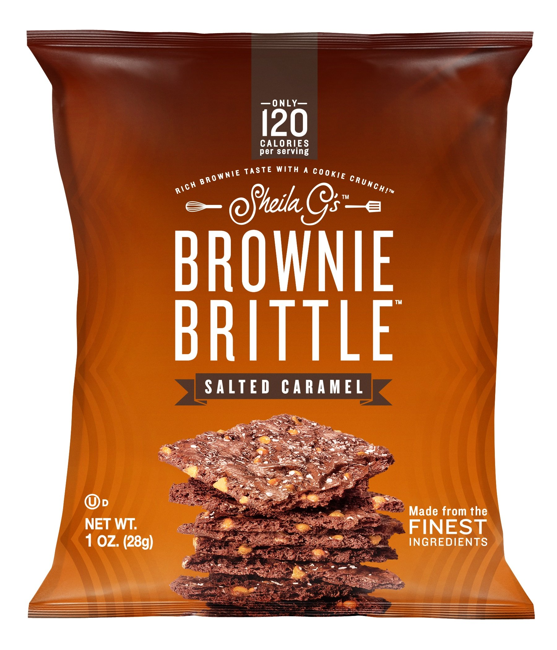 Brownie Brittle Salted Caramel, 1 Ounce, 72 Count (Packaging May Vary)