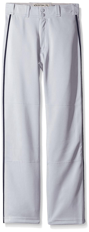 Easton Boys Mako II Piped Pants Gray Black