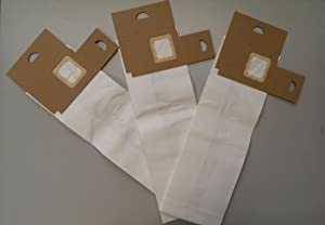 12 Eureka Type LS Sanitaire Vacuum Bags, LiteSpeed Upright, Bagged, Boss Signature Genesis, Sanitaire Commercial Vacuum Cleaners, Series 5700 & 5800, 62123 61820A, SC5815A, SC5713A (12)