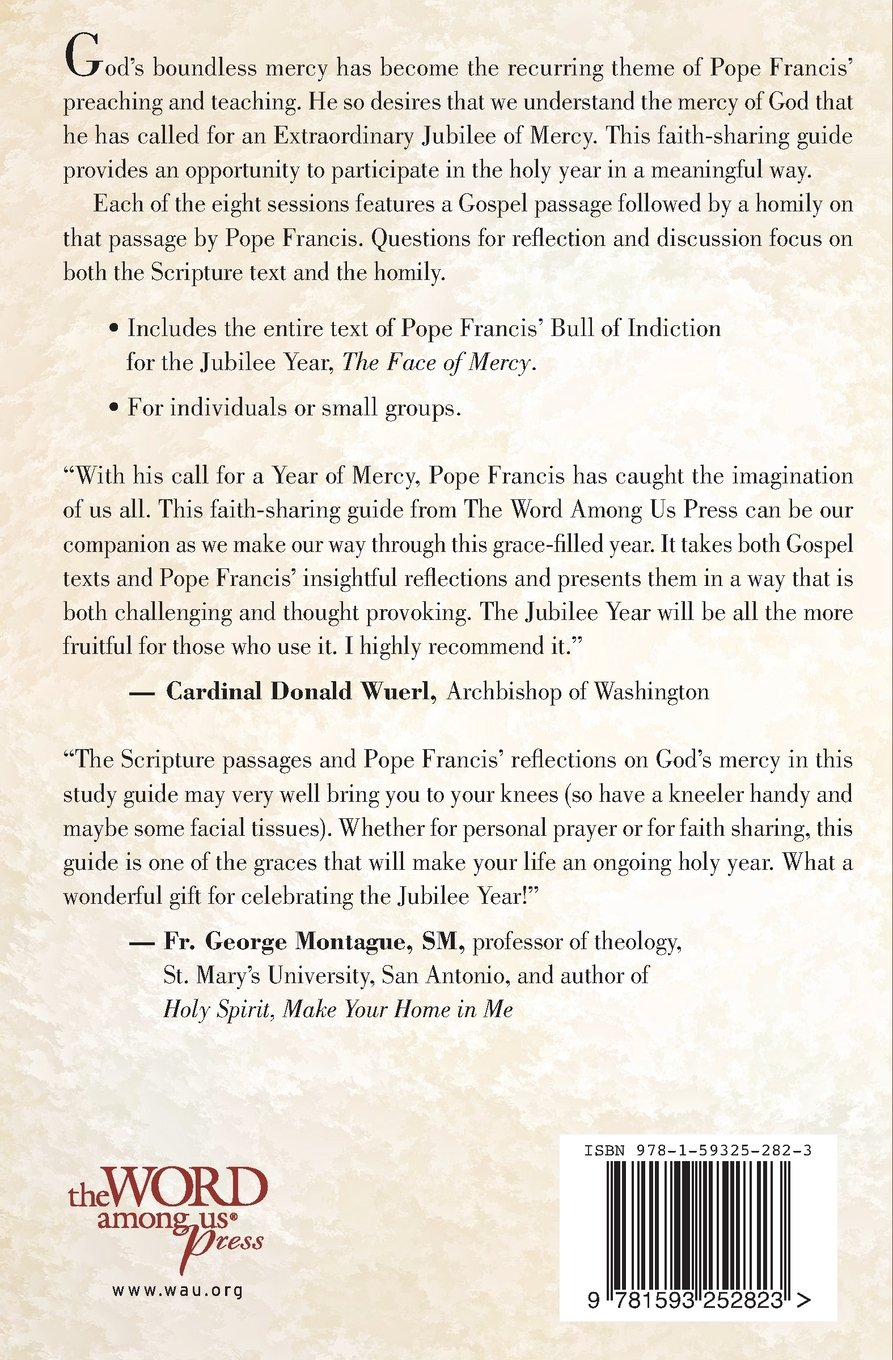Amazon the holy year of mercy a faith sharing guide with amazon the holy year of mercy a faith sharing guide with reflections by pope francis susan heuver reference negle Image collections