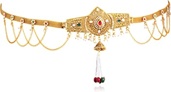Sukkhi Belly Chains for Women (Golden) (KB71865GLDPJ092017)