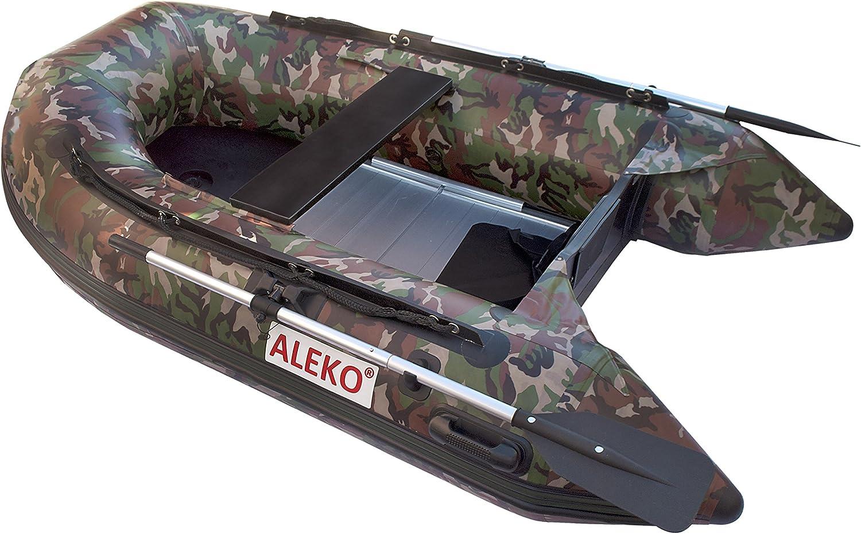 Amazon.com: Aleko bt250 cm camuflaje inflable barco 8.4 ...