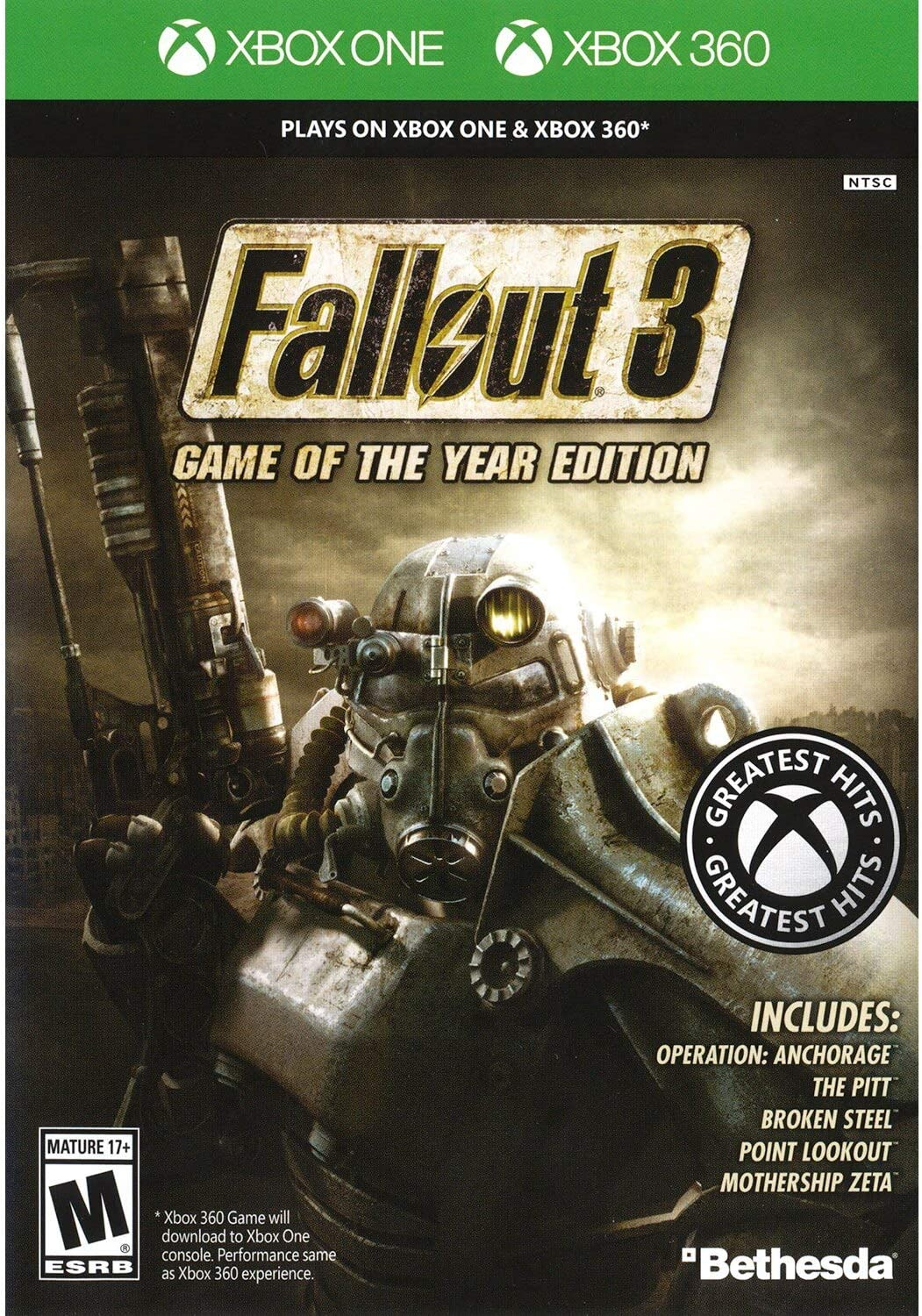 Fallout 3: Game of the Year Edition - Classic (Xbox 360) [Importación inglesa]: Amazon.es: Videojuegos