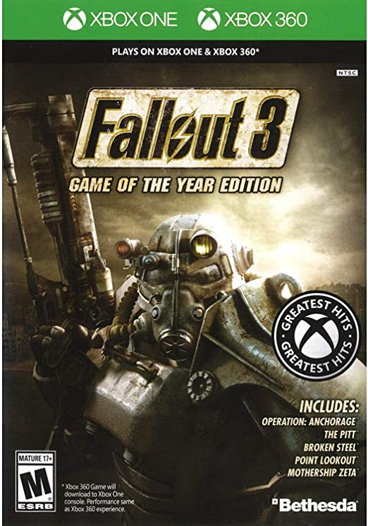 Fallout 3: Game of the Year Edition - Classic (Xbox 360 ...