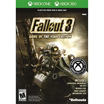 Amazon Com Fallout 3 Game Of The Year Edition Classic Xbox 360 Video Games