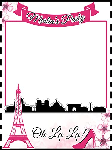 Favori Amazon.com: Custom Paris Photo Booth Prop - Sizes 36x24, 48x36  RE71