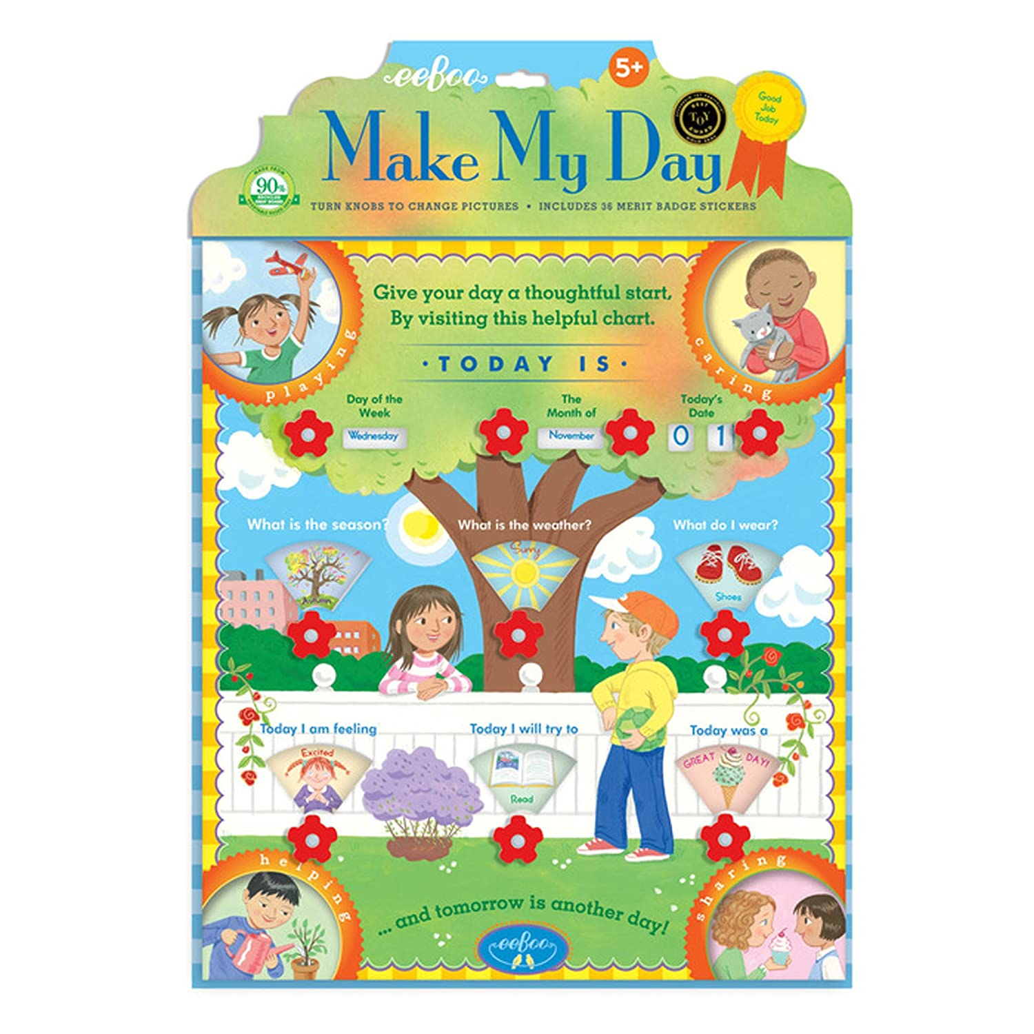 eeBoo Make My Day Interactive Chart