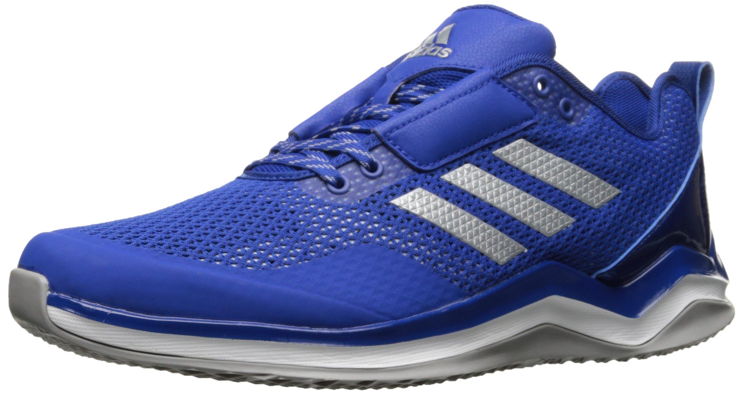adidas Performance Men's Speed Trainer 3.0, Collegiate Royal/Metallic Silver/White, 11 M US
