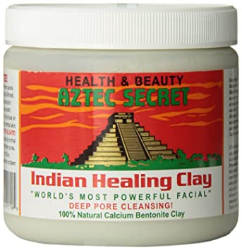 Aztec Secret   Indian Healing Clay   Deep Pore Cleansing Facial & Healing Body Mask   The Original 100% Natural Calcium Bentonite Clay   1lb   454g by Aztec