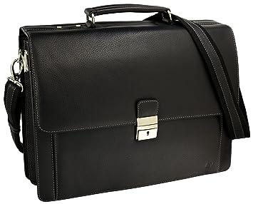 06e792404767f Fa.Volmer® Herren Echt-Leder Business-Tasche für Notebook  Bag16208 ...