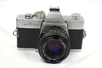 Amazon.com : Minolta #SR-T200 Vintage SLR 35mm Camera : Slr Film ...
