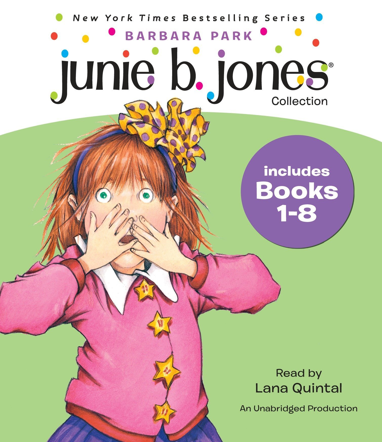 Junie B. Jones Audio Collection, Books 1-8 by Imagination Studio (Image #1)