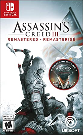 Assassins Creed III: Remastered for Nintendo Switch USA: Amazon ...