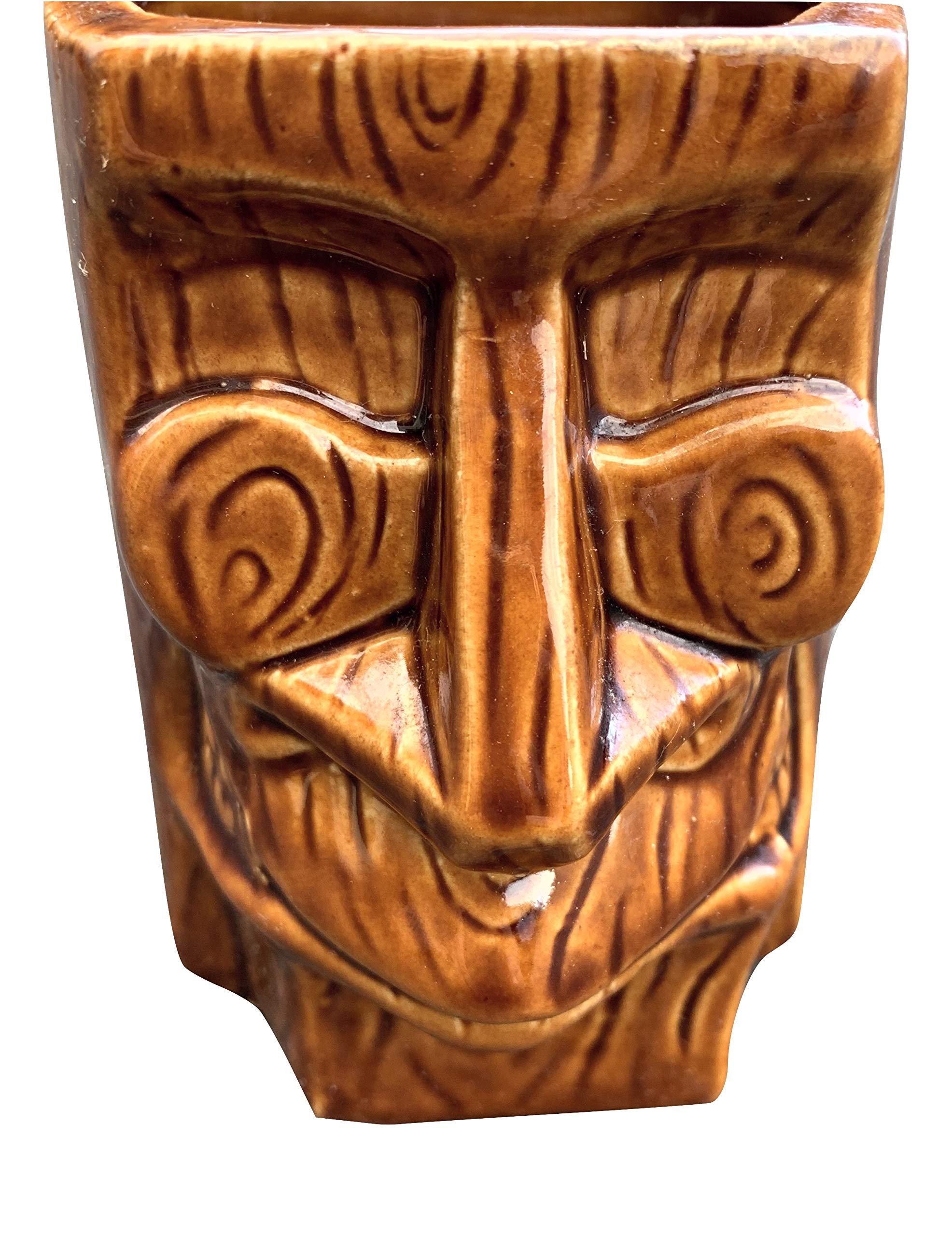 """KC Hawaii Planet Tiki Kimo Mug 4"""" x 3"""" x 3"""""""