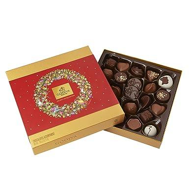 Godiva, Navidad 2018 bombones pralines surtidos caja regalo 24 piezas, 295g