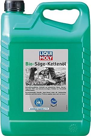 Liqui Moly 1281 Aceite para Cadenas de Motosierras Bio, 5 L: Amazon.es: Coche y moto
