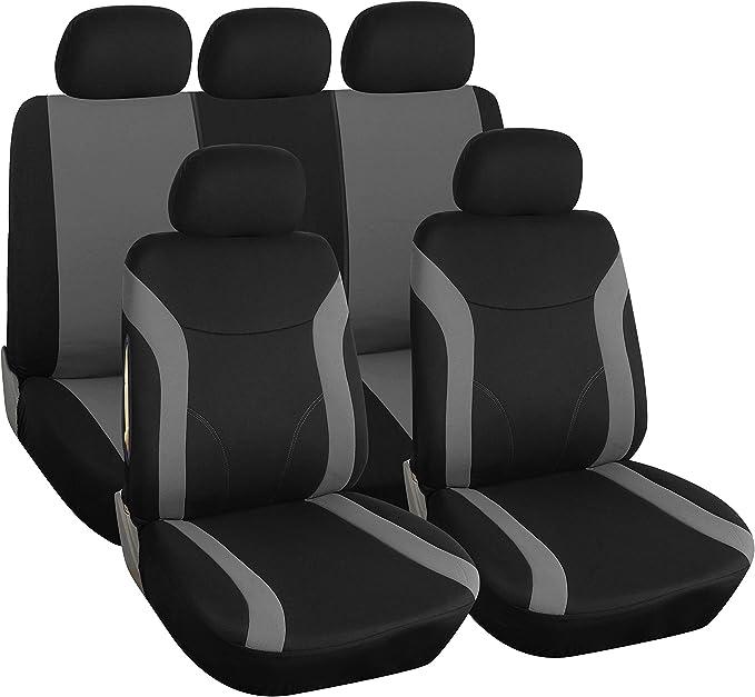 Coprisedili AUTO SEAT AROSA Universal Set Rosso Coprisedili Rivestimento Seggiolino Auto Auto