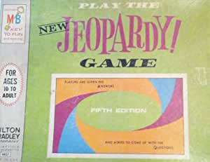 Amazon.com: Play The NEW Jeopardy Game Fifth Edition