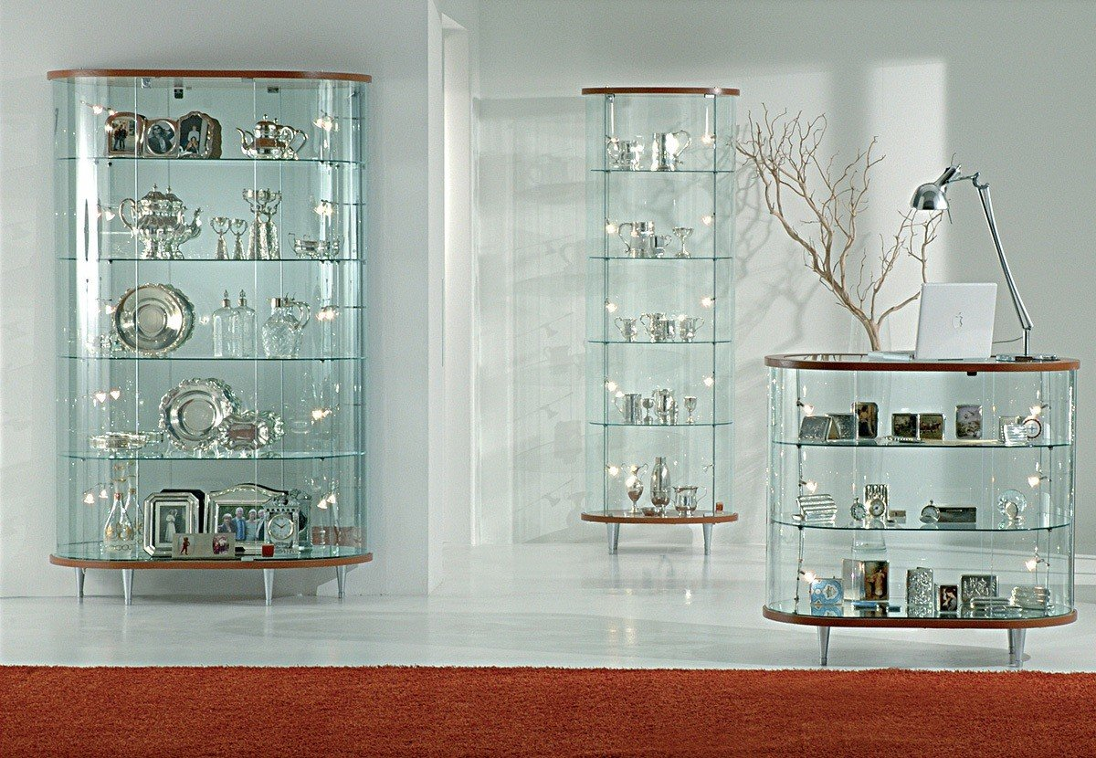 Italfrom vetrina vetrinetta bassa showcase banco vetro negozio casa