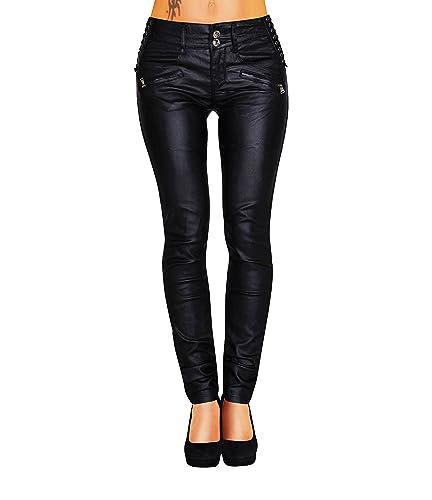 Danaest – Pantalón – skinny – Básico – para mujer negro 36