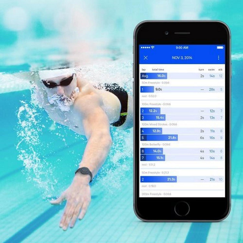 Moov Inc Workout Tracker Blue M1508-bl Discontinued, Version 1.0