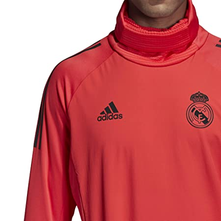 Amazon.com   adidas 2018-2019 Real Madrid UCL Warm Up Top (Red)   Sports    Outdoors 3388e18a0