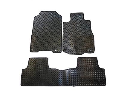 Amazoncom Honda CRV Floor Mats By Connected Essentials - Rubber connecting floor mats
