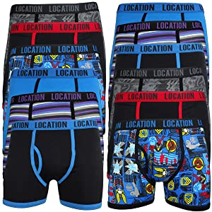 6 Pairs Mens Plain Classic Boxer Shorts Trunks Briefs Adults Underwear s,m,l,xl