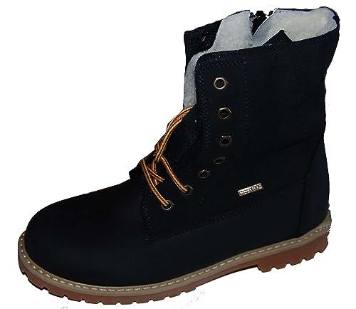 Details zu Däumling SYMPATEX® Kinder Mädchen Stiefel Winterschuhe wasserdicht Leder Schuhe