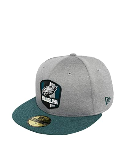 e371ae73948 New Era Men Caps Fitted Cap NFL Philadelphia Eagles 59 Fifty Grey - 535554 7
