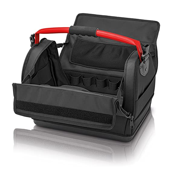 95131a768911 Knipex 00 21 08 LE - tool bag made of polyester fabric with steel handle   Amazon.co.uk  DIY   Tools
