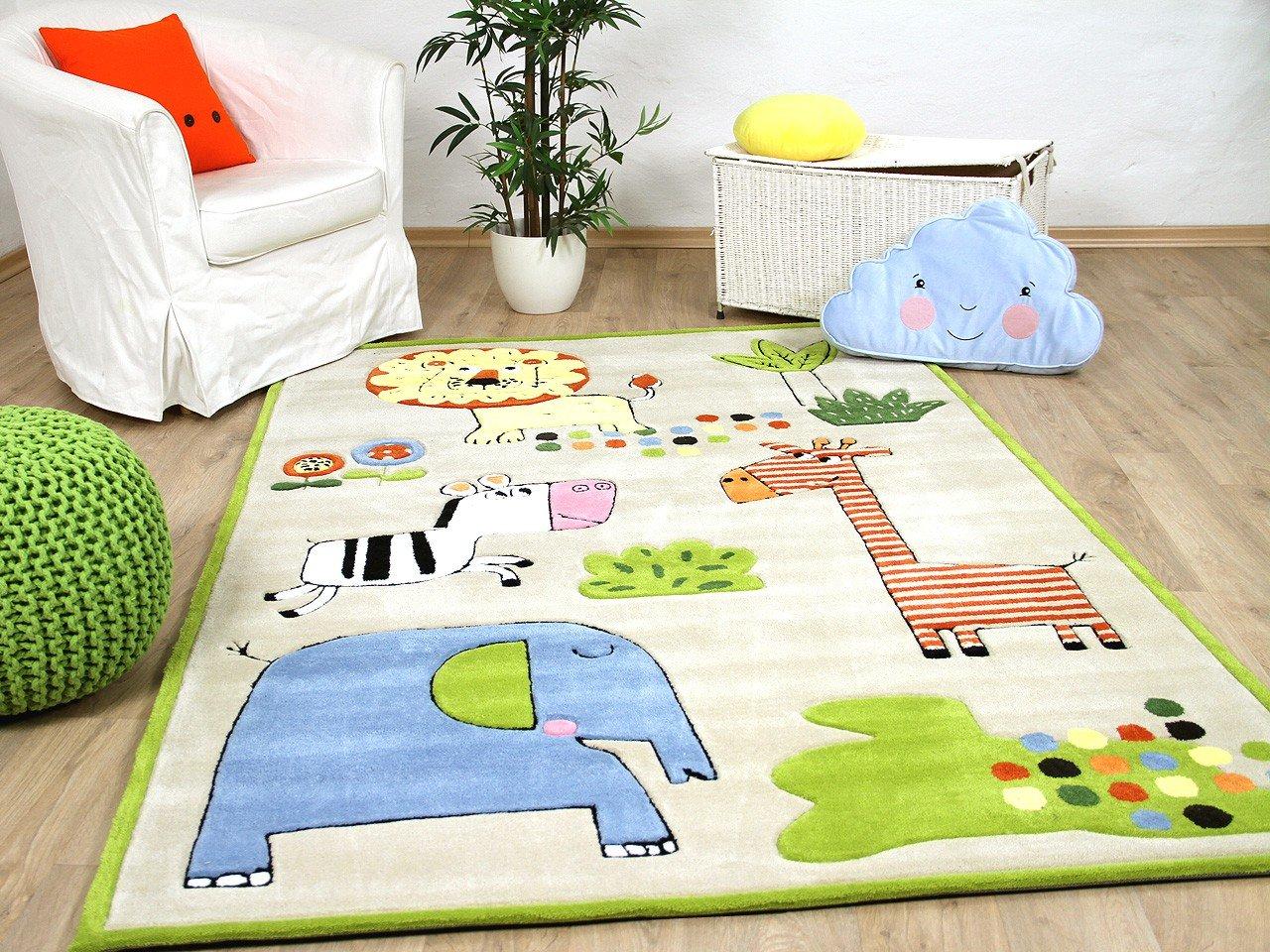 Lifestyle Kinderteppich Happy Zoo Bunt       Sofort Lieferbar     e4f61c