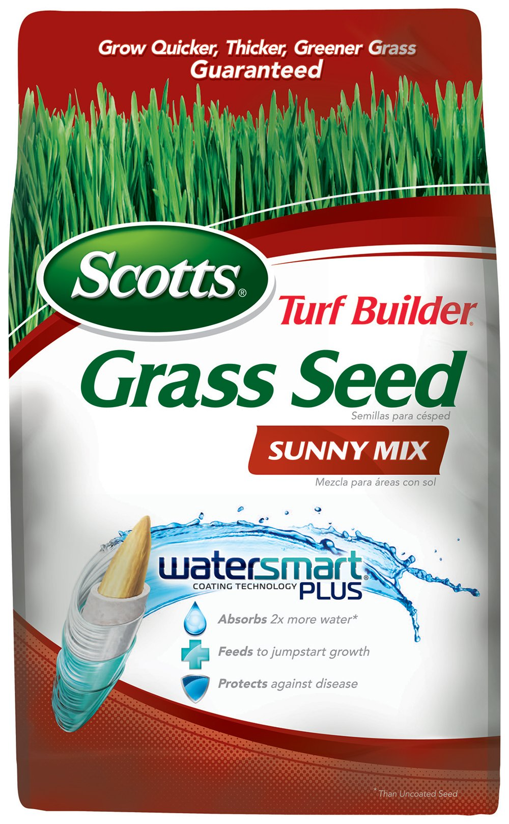 Scotts 18345 Turf Builder Sunny Grass Seed Mix (6 Pack), 3 lb