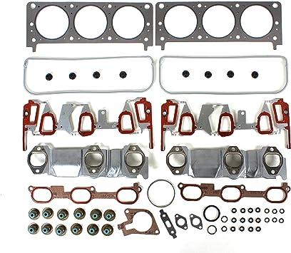 Head Gasket Set Bolt Kit Fits 04-05 Chevrolet Pontiac Oldsmobile 3.4L V6 OHV VIN E