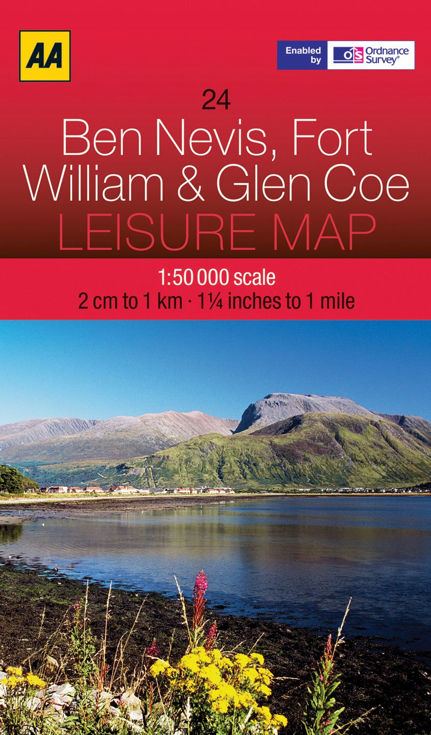 Download Leisure Map Ben Nevis, Fort William and Glen Coe (Aa Leisure Maps) pdf