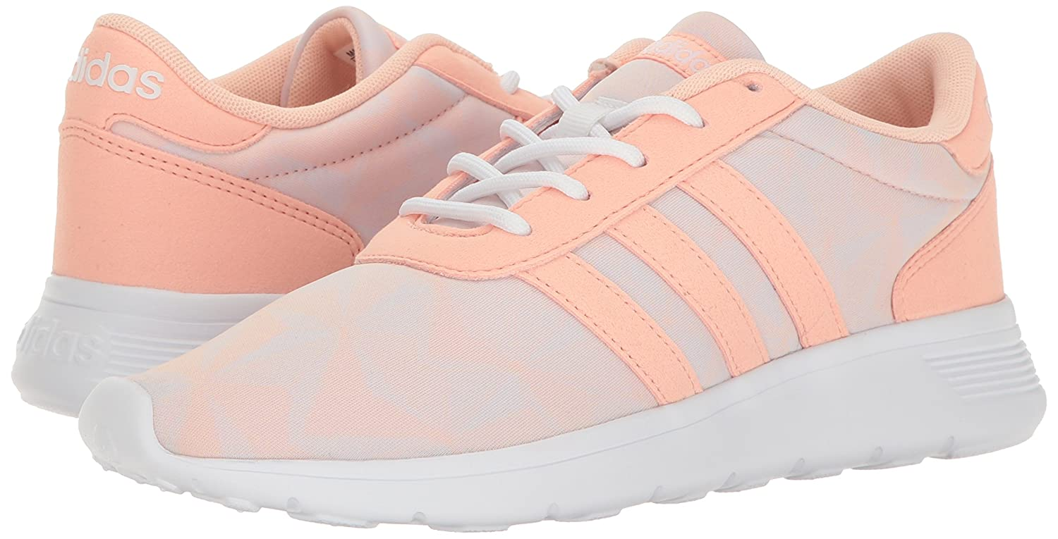 competitive price adcf8 75026 Amazon.com  adidas Womens Lite Racer Casual Sneaker  Walking