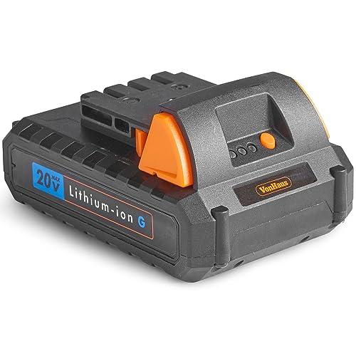 VonHaus 20V Li-Ion 1.5 Ah Battery for VonHaus 20V Max Lithium-ion G Range - Not Compatible with Primal Range