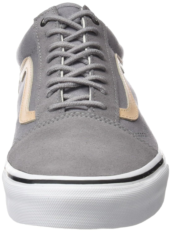 de08cd973fcc Vans Unisex Veggie Old Skool Classic Tan 14147 Skate Shoes Veggie Tan Frost  Gray True White 0ced41e