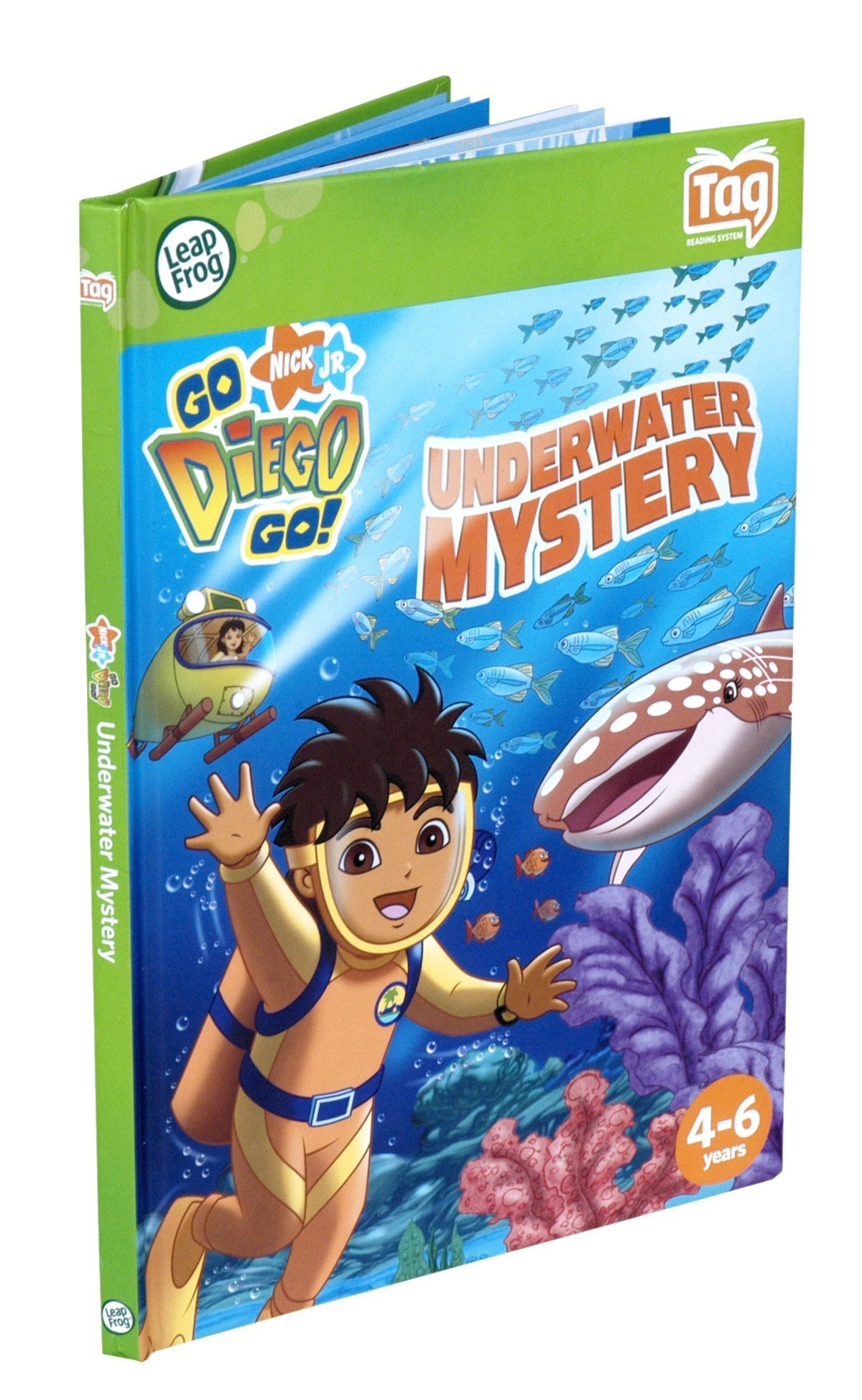 Leapfrog Tag Activity Storybook Go Diego Go!: Underwater Mystery