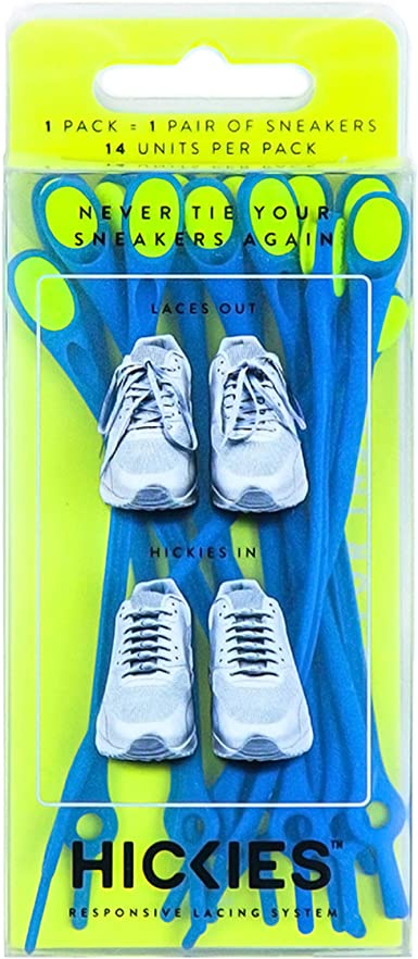 Hickies Unisex Adults'Shoe Laces Blue